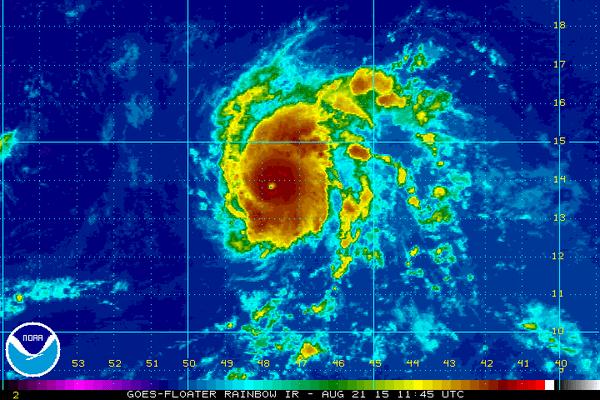 Hurricane Danny at Cat 3_1440187638015.png