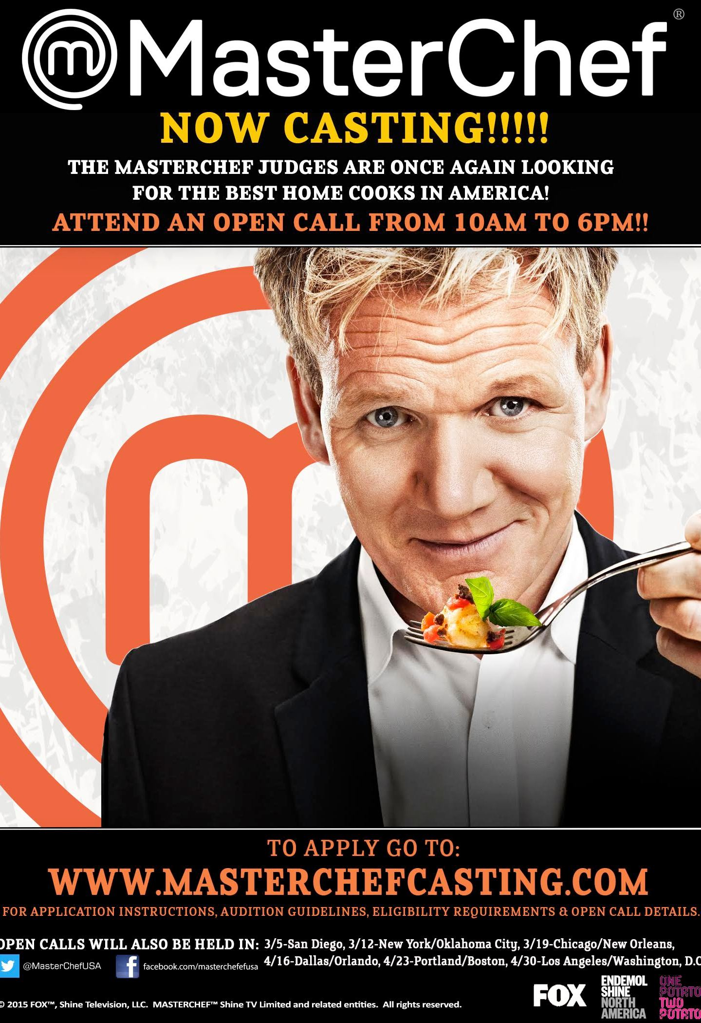 "MASTERCHEF"" Season 8 begins latest search with open casting"