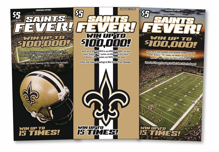 Louisiana Lottery announces final Saints Fever second-chance drawing