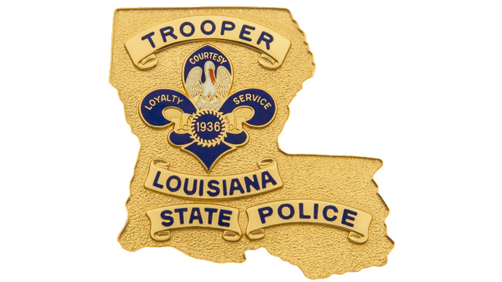 Louisiana State Police - Trooper Badge