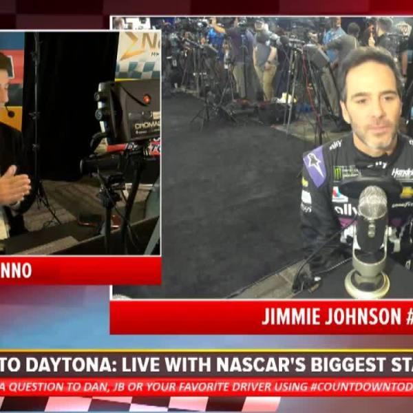 "Jimmie Johnson on Tom Brady: We've been on a ""similar journey"""