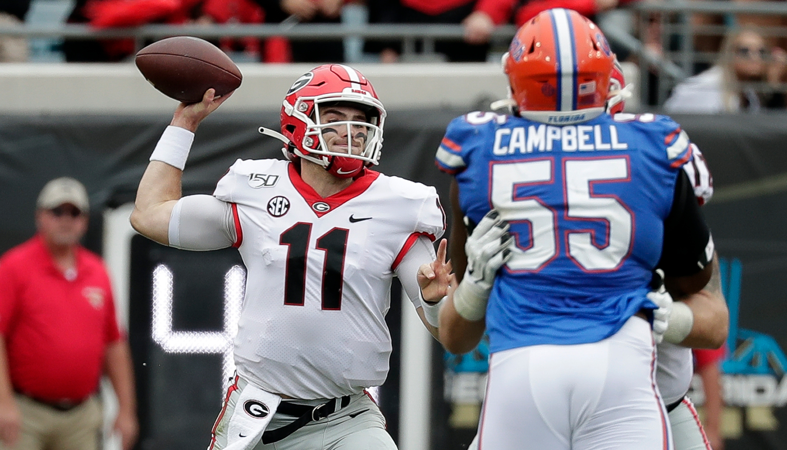 Jake Fromm, Kyree Campbell