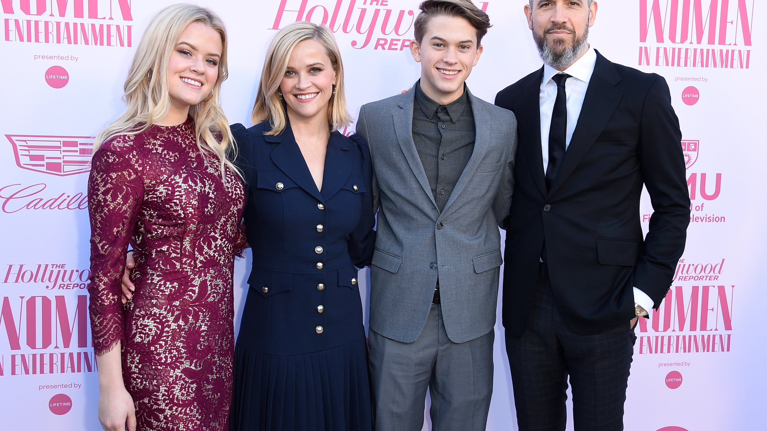 Ava Phillippe, Reese Witherspoon, Deacon Phillippe, Jim Toth