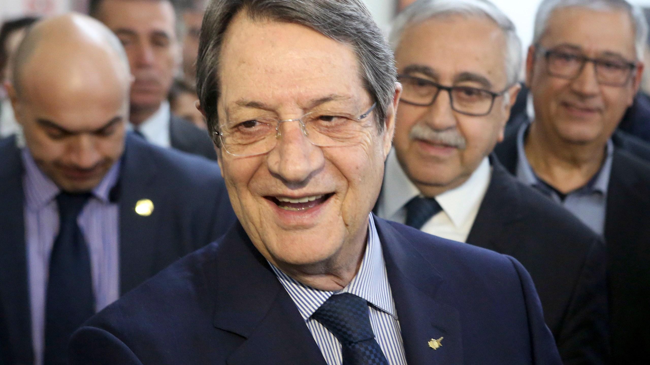 Nicos Anastasiades, Mustafa Akinc