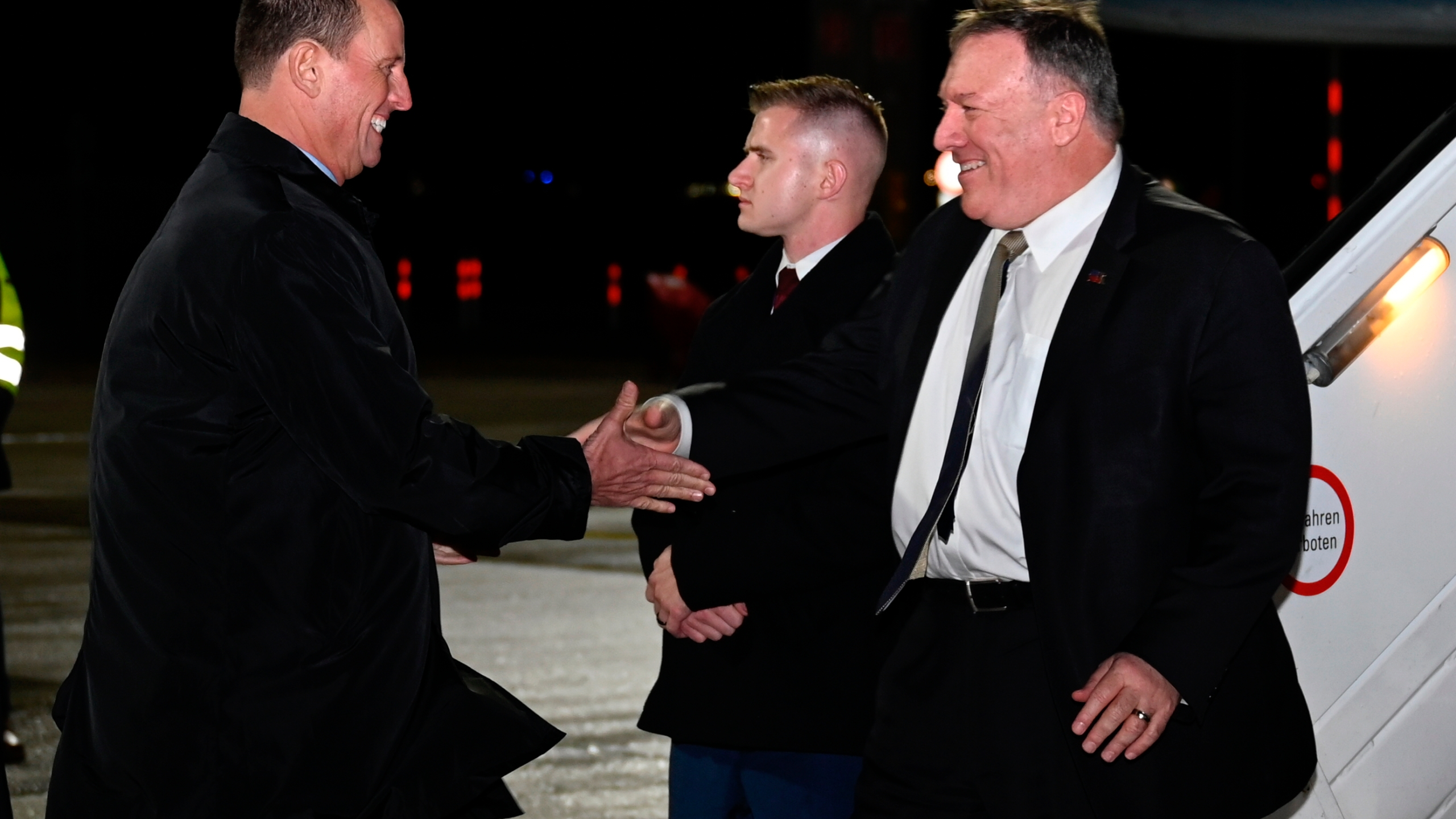 Mike Pompeo, Richard Grenell